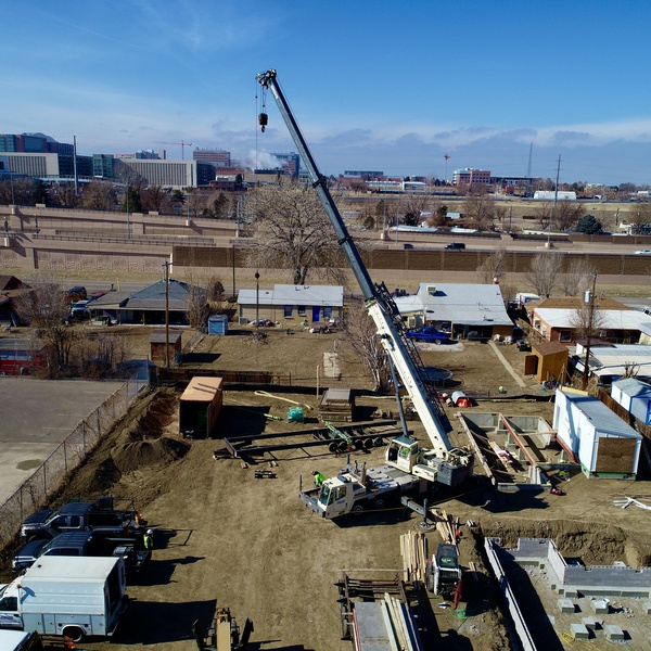 Construction Site Aerial