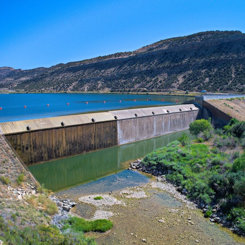 Dam Inspection South Wyoming